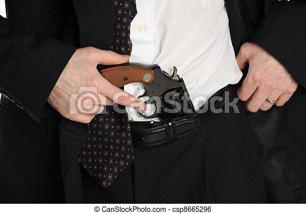 pistol-in-pants-stock-image_csp8665296